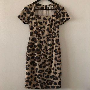 Banana Republic leopard pattern dress